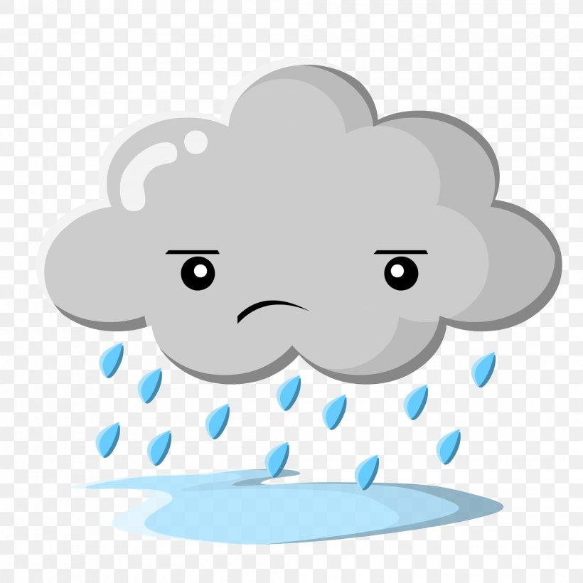 Rain Cloud Clip Art, PNG, 2000x2000px, Rain, Area, Blue.