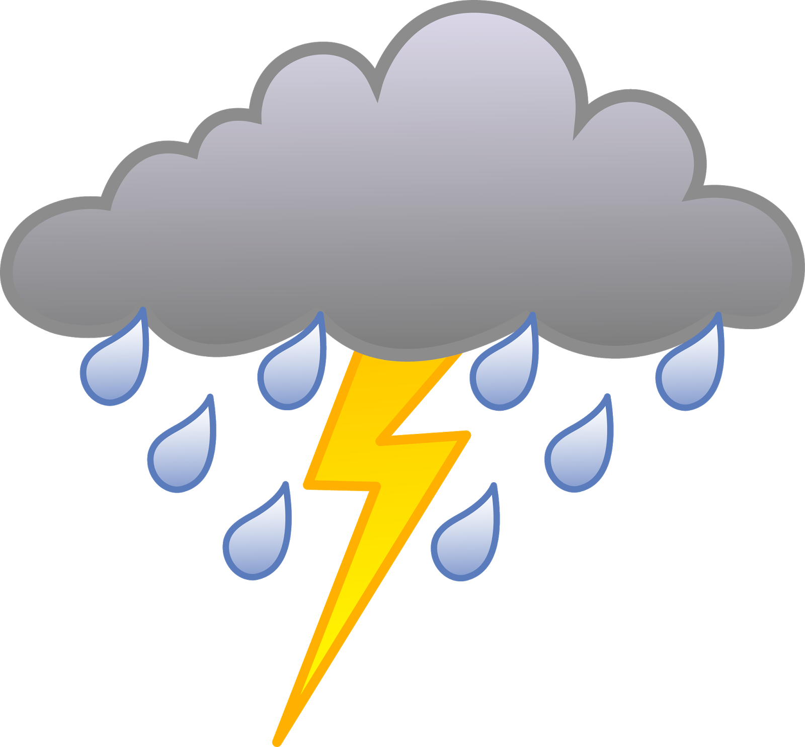 Lightning Cliparts For Free Clipart Stormy Weather And Png.