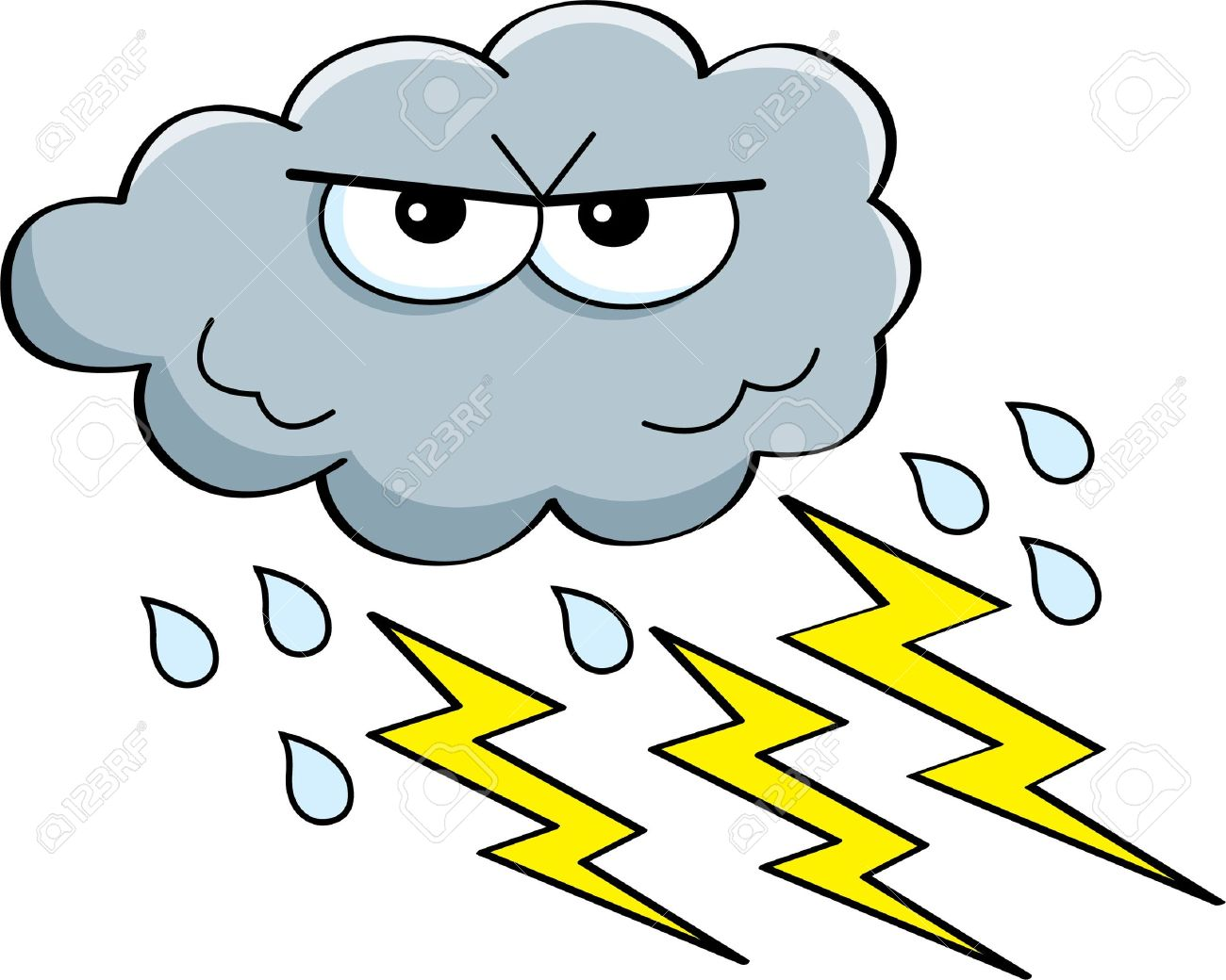 Free Thunder Clipart stormy, Download Free Clip Art on Owips.com.