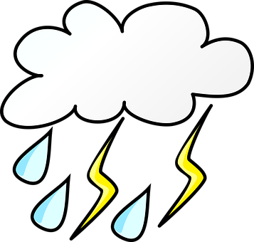 Thunder clipart stormy for free download and use images in.