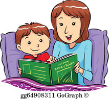 Story Time Clip Art.