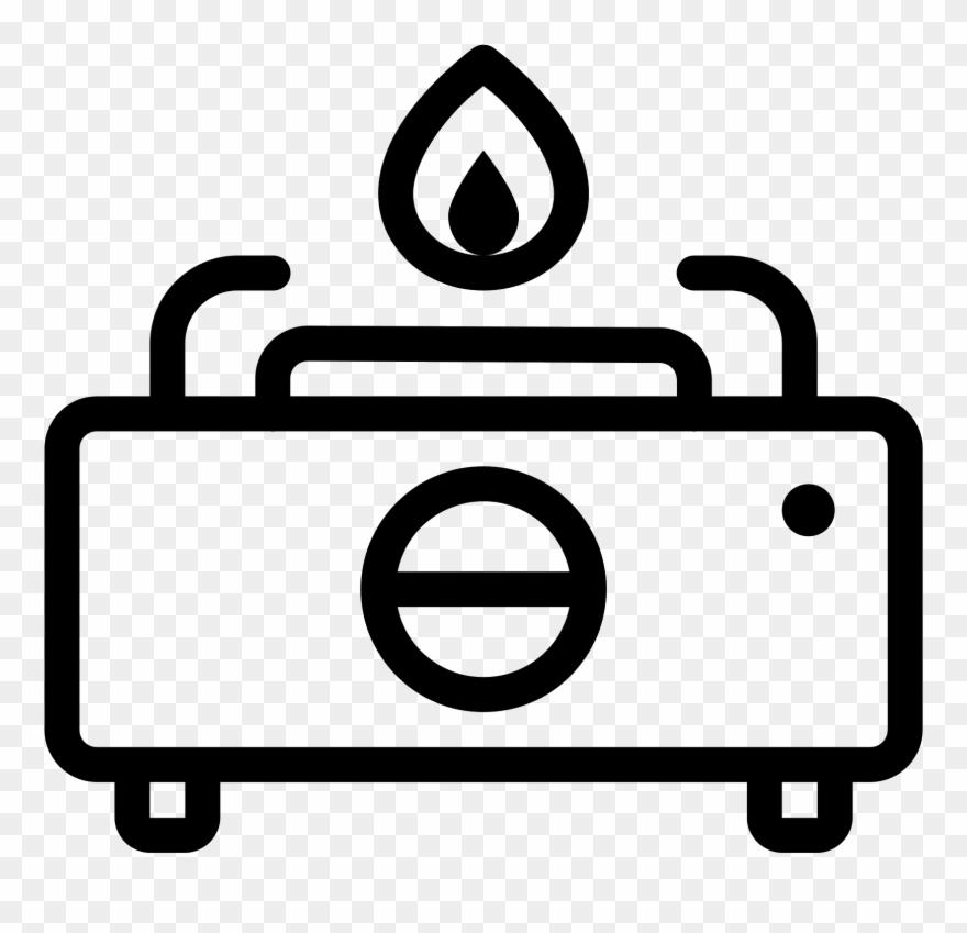 Gas Stove Icon.