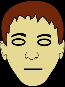 Straight Face Clip Art at Clker.com.