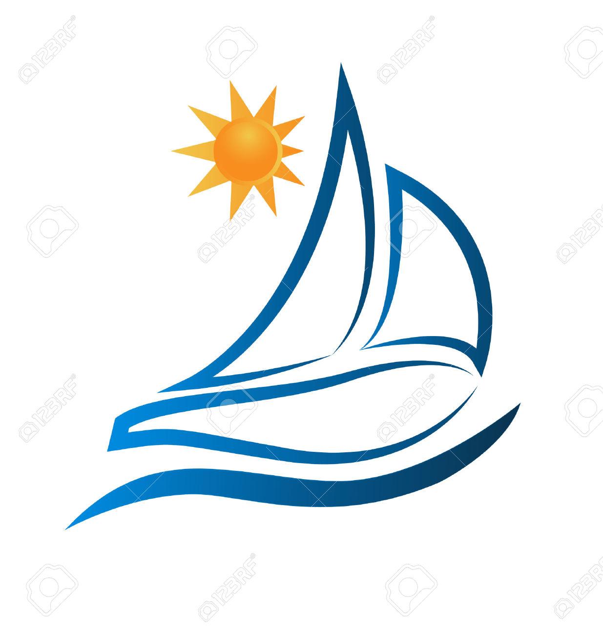 Boot Wellen Und Sonne Meer Strand Bildrahmen Lizenzfrei Nutzbare.
