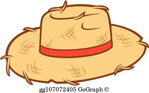 Straw Hat Clip Art.