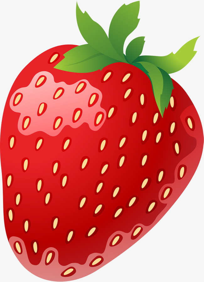 Red Cartoon Strawberry, Gules, Cartoon, Strawberry PNG Transparent.