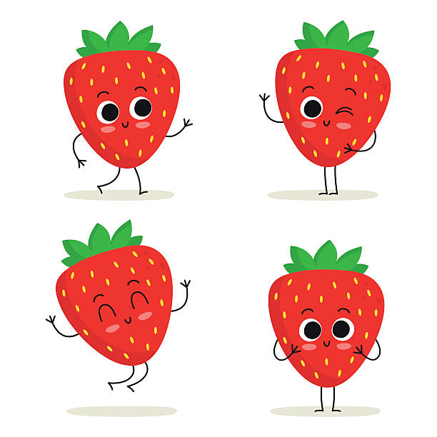 Best Strawberry Illustrations, Royalty.