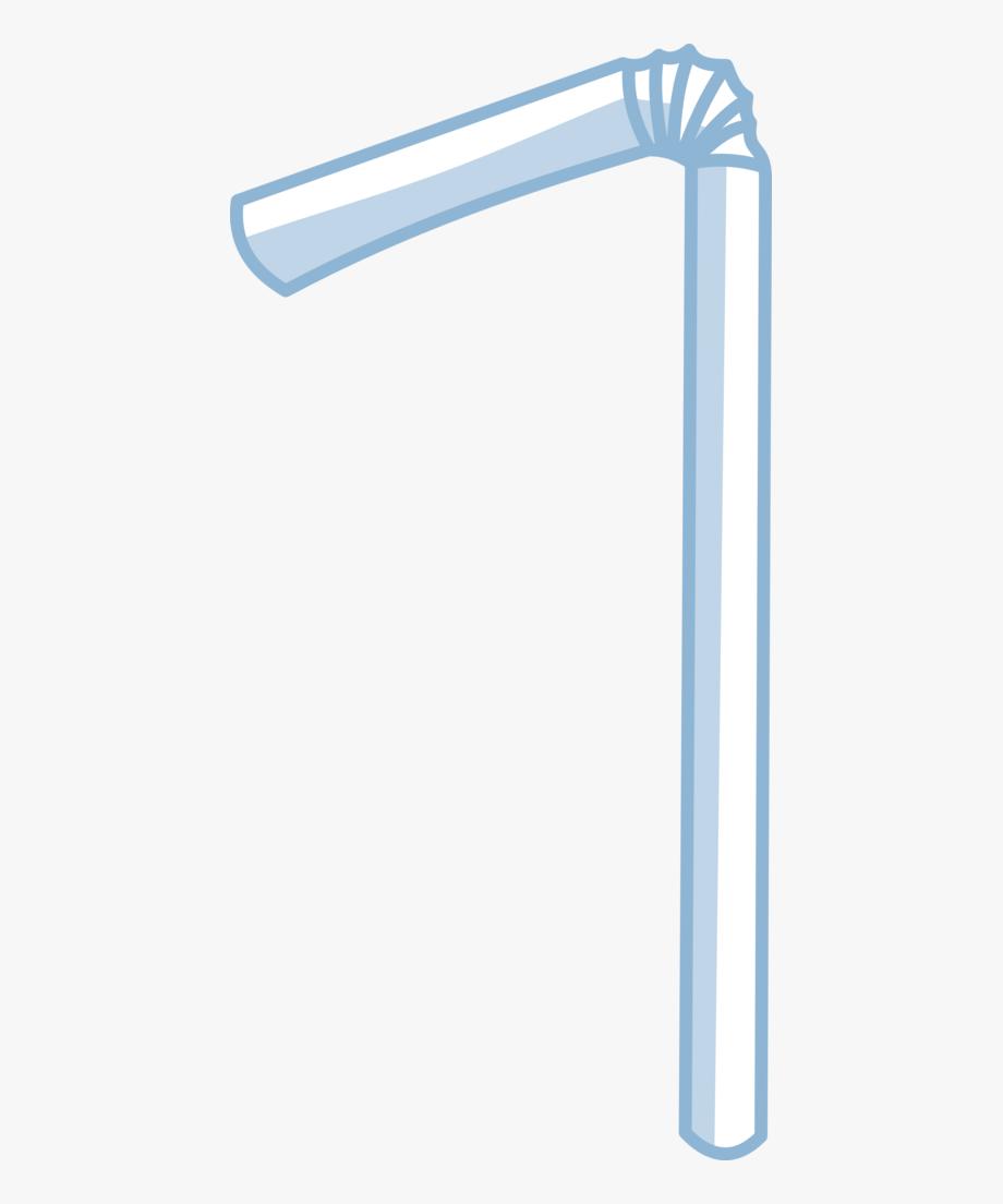 Straw Clipart Plastic Straw.