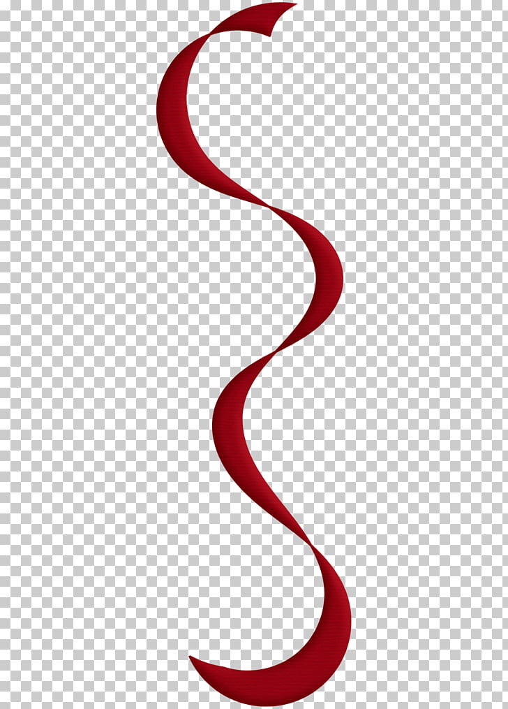 Serpentine streamer Yellow Birthday , red Confetti PNG.