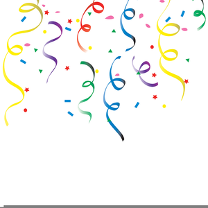 Free Streamers Clipart.
