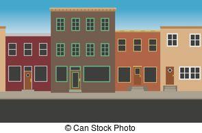 Main street Vector Clip Art EPS Images. 878 Main street clipart.