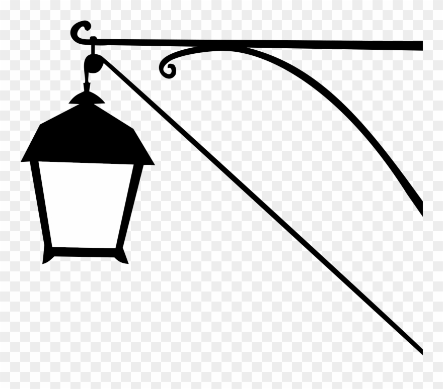Street Lamp Silhouette Icons Png.