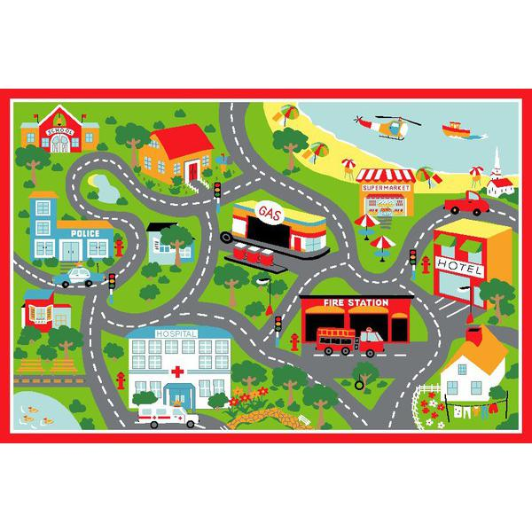 Simple Street Map Clipart.