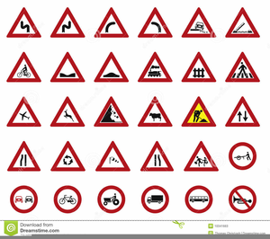 Clipart Street Signs.