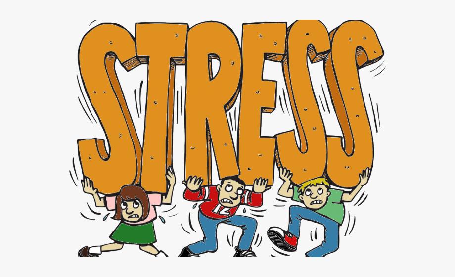 Stress Cartoon.