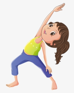 Free Stretching Clip Art with No Background.