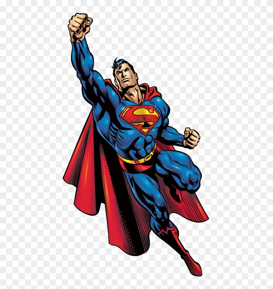 Superman Clipart Strong.