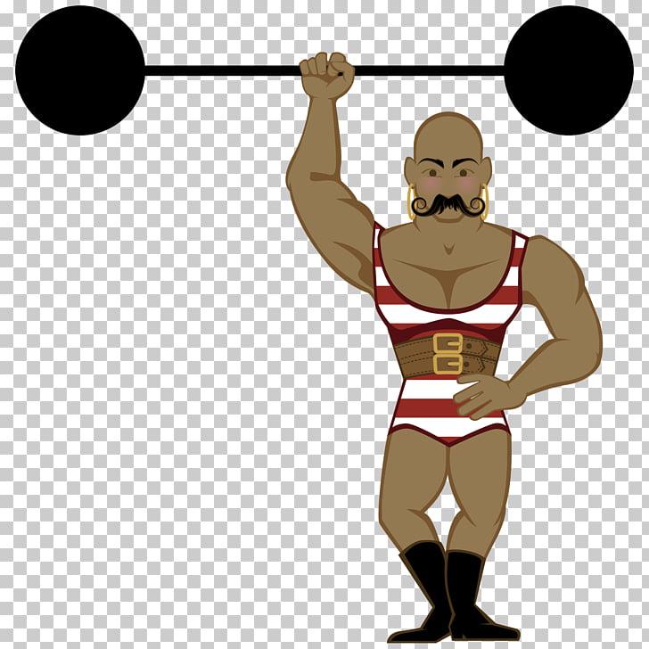 Strongman Circus , Circus Strongman s, man lifting barbell.