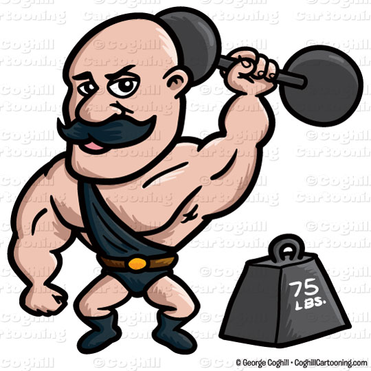Strongman clipart » Clipart Station.
