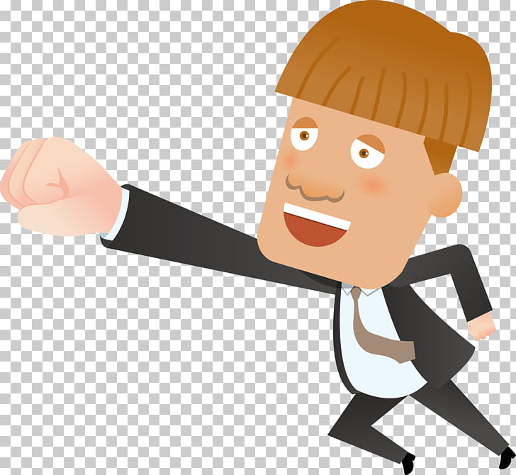 Cartoon Drawing Computer file, Struggling man PNG clipart.
