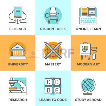 Clipart Student Build Skills.