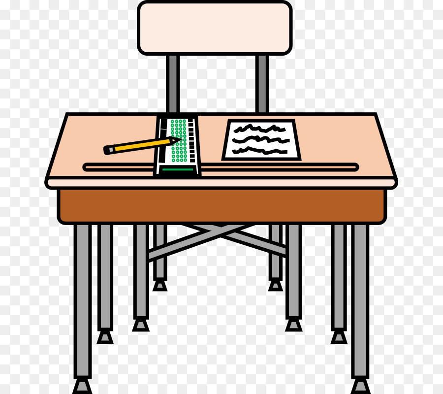 School Chair png download.