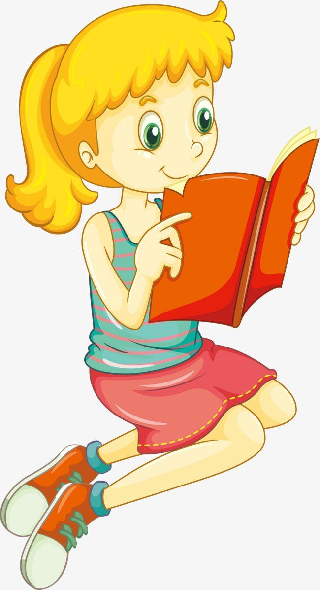 ناقلات القراءة فتاة.