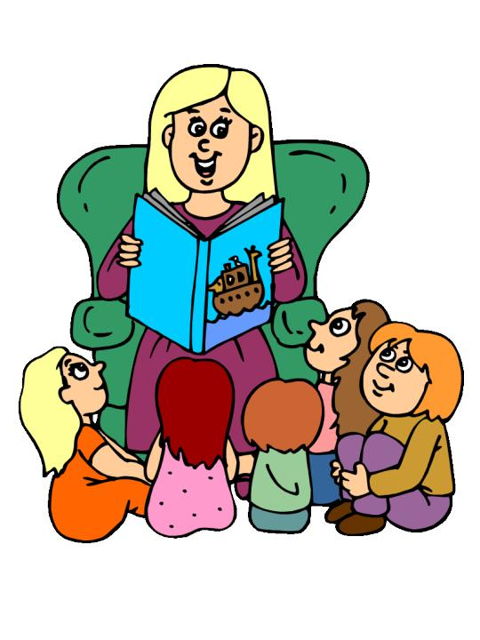 Telling Stories Clipart.