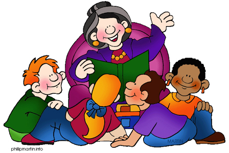 Story Telling Competition Clipart.