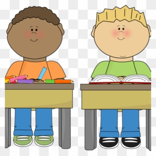 Free PNG Students Working Clip Art Download.
