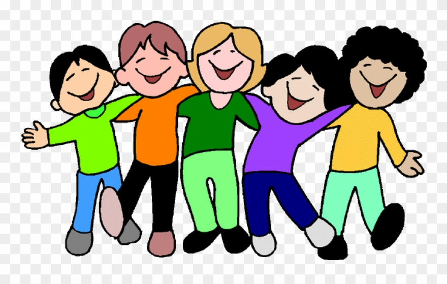 Students Working Together Clipart.