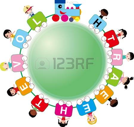 clipart students and world #7