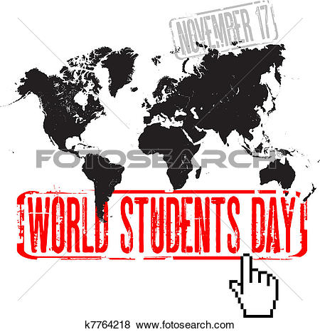 clipart students and world #18