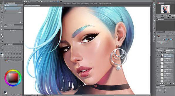 Clip Studio Paint 1.9.7 Crack Plus Keygen Torrent 2020.