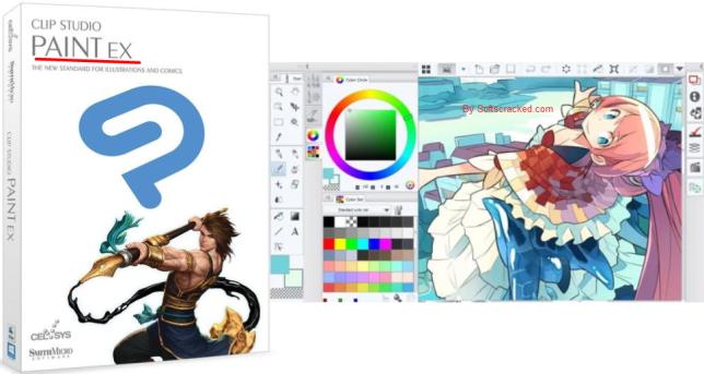 Clip Studio Paint EX 1.9.7 Crack + Full Version Torrent [Mac.