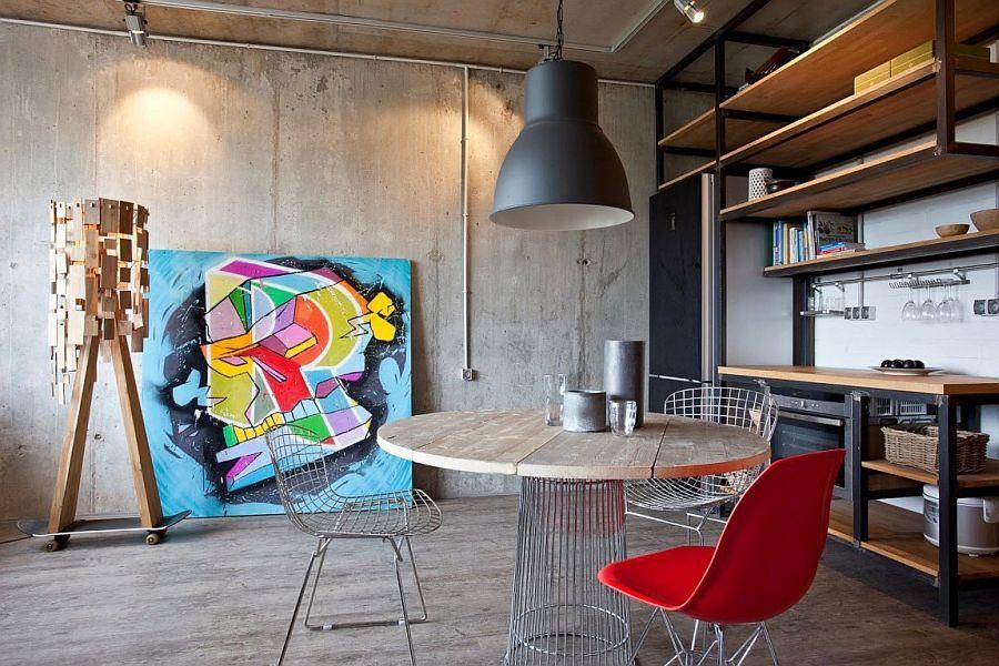 Download concrete studio apartment clipart Studio apartment.