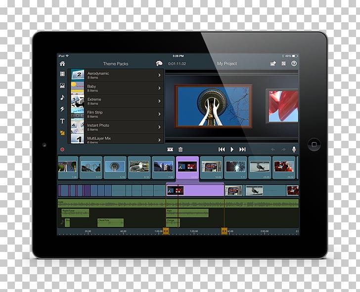 Display device Computer Software iPhone Pinnacle Studio iPad.