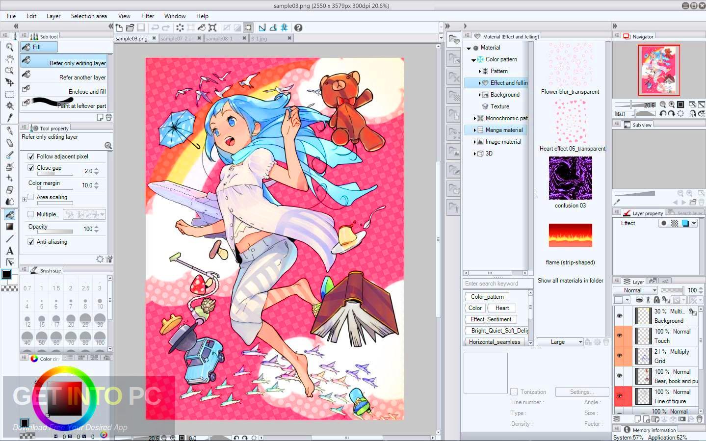 Clip Studio Paint Free Download.