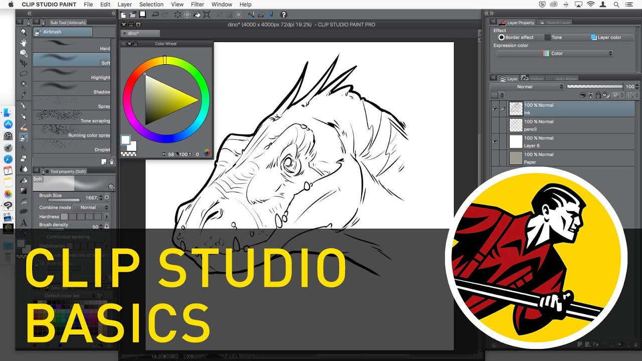 Clip Studio Paint Basics (Updated video available!).