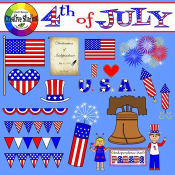 4th of July Clipart (Creative Studios Clipart).