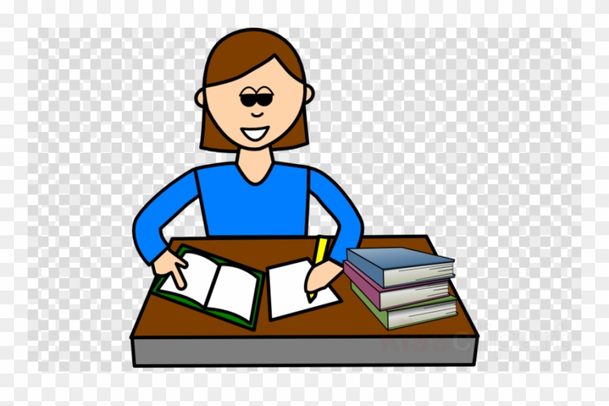 Download Someone Studying Clipart Study Skills Clip.