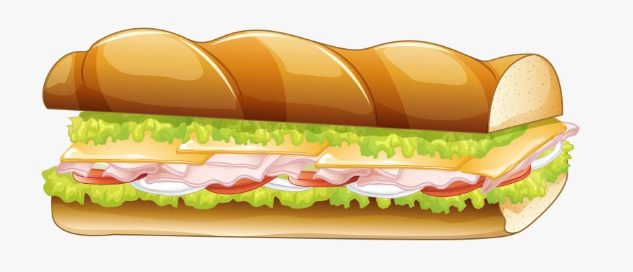 Sub Sandwich Vector Png, Cliparts & Cartoons.