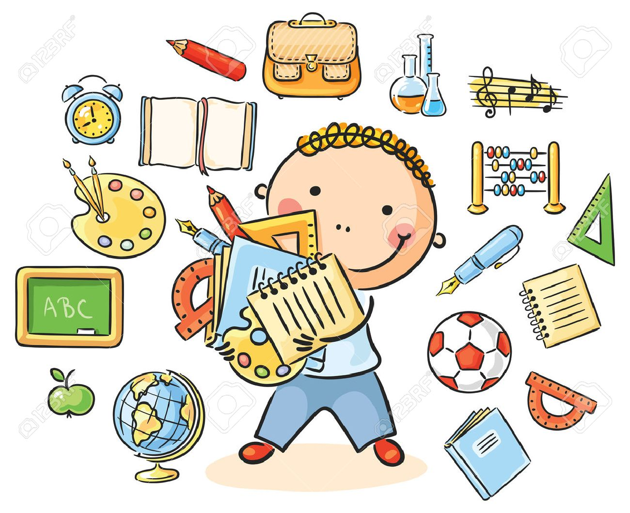 School subjects clipart 4 » Clipart Station.