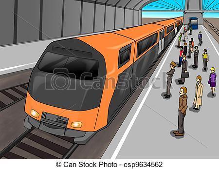 Subway train clipart 4 » Clipart Portal.