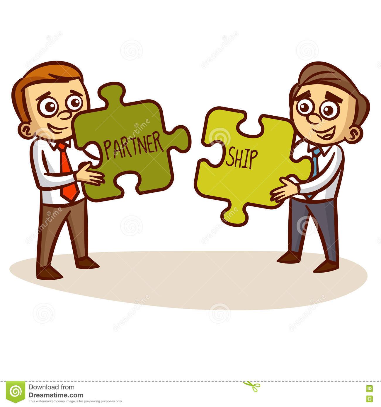Business Partnership Success Transaction Stock Vector.