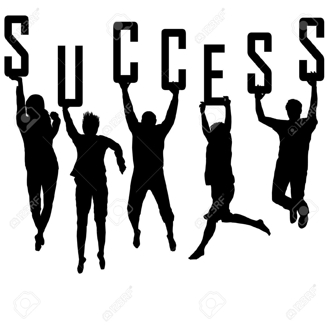 Successful People Clipart.