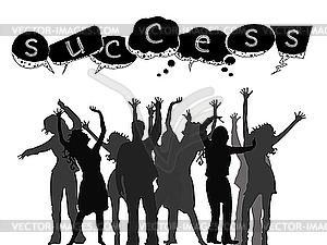 Success People Clipart.