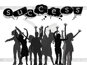 Success People Clipart.