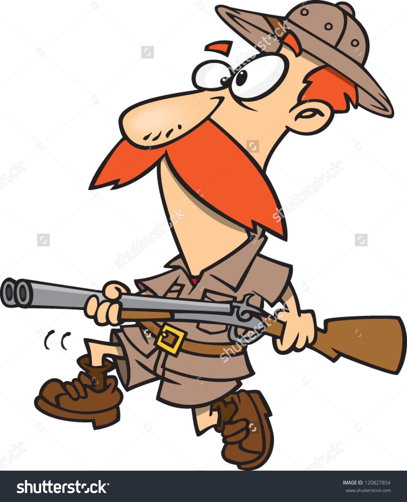 Showing post & media for Cartoon safari guy running.