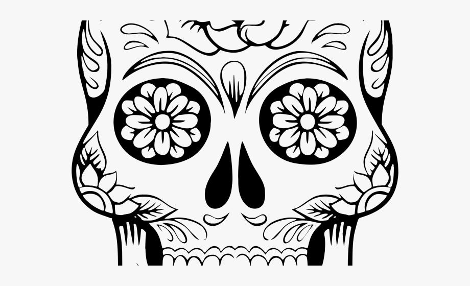 Sugar Skull Clipart Clip Art.